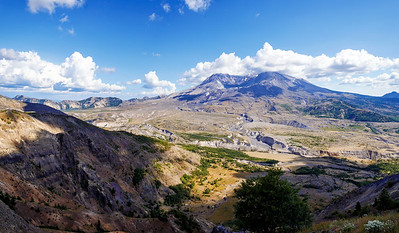 Mt. St. Helens With a Cloud Cap
