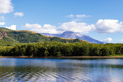 Coldwater Lake and Mt. St. Helens