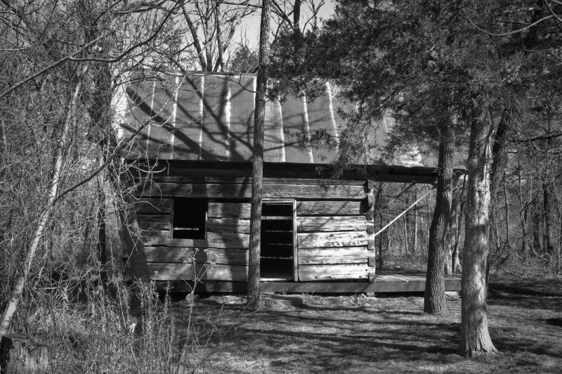 Falling Spring Mill, part of Ozark National Scenic Riverways.  Located south of Winona off of state highway 19.  Cabin owned by the Browns who moved from Tennesse and settled here because it reminded them of their home.  They ran the mill.