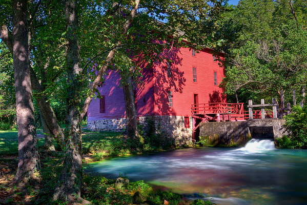 Another view of Alley Spring Mill, part of Ozark Scenic National Riverways.