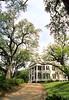Mansion in Natchez, Mississippi, southern end of Natchez Trace Parkway - 7 - 72 ppi