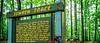 Touring bike at Sunken Trace sign on Natchez Trace Parkway - 8 - 72 ppi