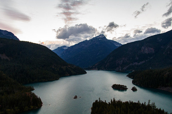 Dusk In the North Cascades