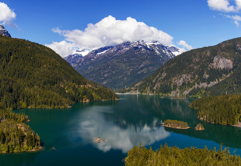 Iconic North Cascades Photo