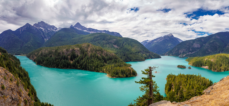 Diablo Lake Curvature