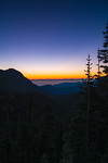 Just before sunrise a quarter mile before Hurricane Ridge in Olympic National Park, Washington.<br /> 🔸 When seeing this view of the Straights of Juan de Fuca and the coastal region I was born covered in a thick layer of fog, I had to shoot! The mountain range in the background (where the orange is) is the Cascades.<br /> 🔸 While shooting, I heard this loud noise on the ground right behind me. I'm jumped and turn around to find a very tame wild rabbit at my feet<br /> 🔸 Hurricane Ridge is approximately 17 miles south of Port Angeles, Washington. And has been a must see on almost every visit<br /> 🔸 9 shot HDR, Photoshop HDR 32 bit | Adobe Camera RAW<br /> 8▫15▫2016