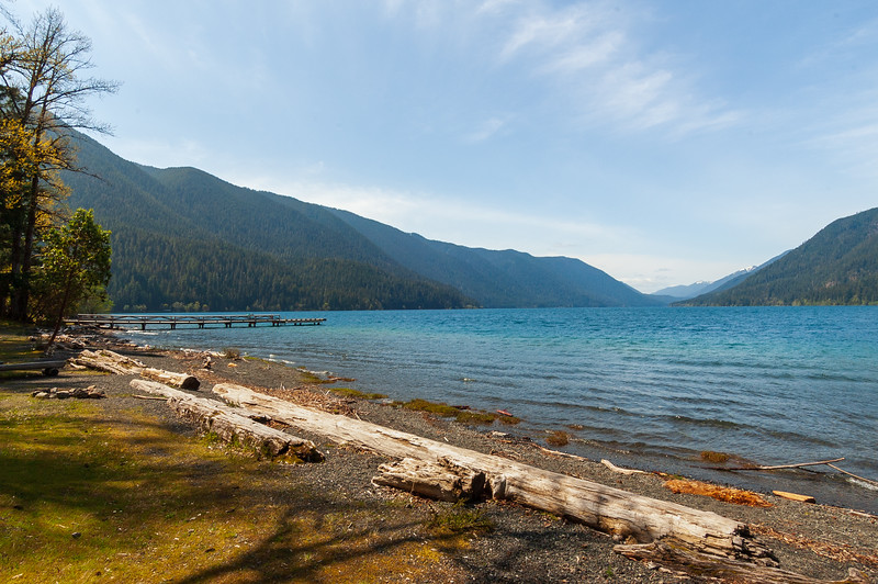 Lake Crescent at Olympic National Park