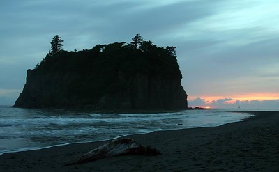 Ruby Beach, Sunset