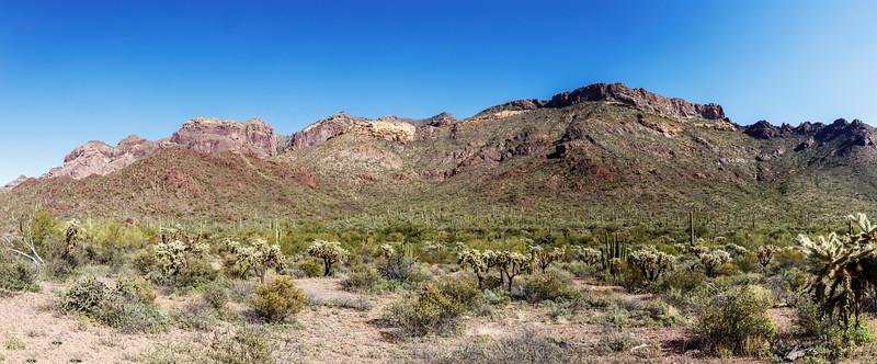 Imposing Mountain Range