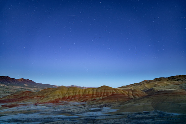 John Day Fossil Beds National Monument, Wheeler County Oregon  Sony ILCE-7RM3 FE 24-70mm F2.8 GM at 24 mm 18.0 sec at ƒ / 2.8 @ 1600 ISO  9/21/19 7:51:19 PM ©savoyeimages.com