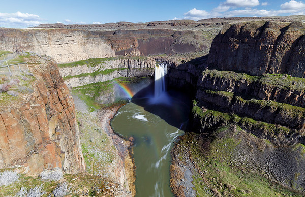 Palouse Falls Rainbow Factory