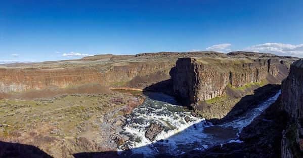 The Upper Falls Overshadowed