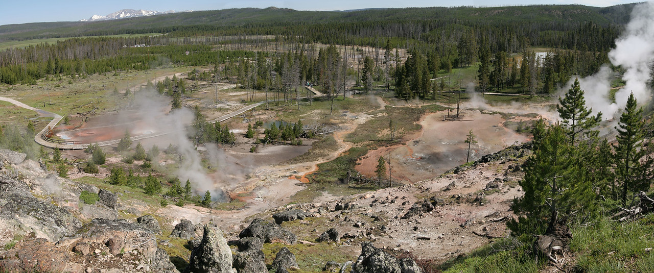 Artist Paintpot Trail<br /> Yellowstone NP