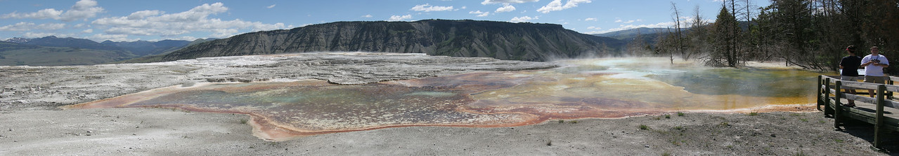 Canary Springs - Mammoth Hot Springs<br /> Yellowstone NP