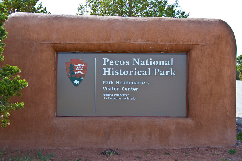 Pecos National Historical Park entrance
