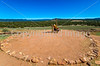 Cyclist at Pecos National Historical Park, NM - D1-3 - C2 --0128 - 72 ppi