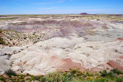 Petrified Forest National Park, Arizona, September 2012.