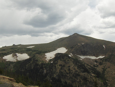 July 2008 - GMA's first trip to RMNP - views from Trail Ridge Drive - lovely glaciers
