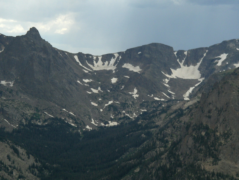 July 2008 - GMA's first trip to RMNP - views from Trail Ridge Drive - at the overlook - I zoomed in as far as my little camera would let me