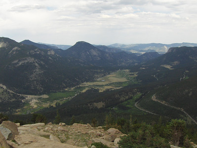 July 2008 - GMA's first trip to RMNP - views from Trail Ridge Drive