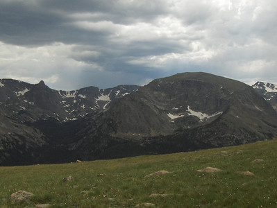 July 2008 - GMA's first trip to RMNP - views from Trail Ridge Drive - a nice view from the scenic overlook