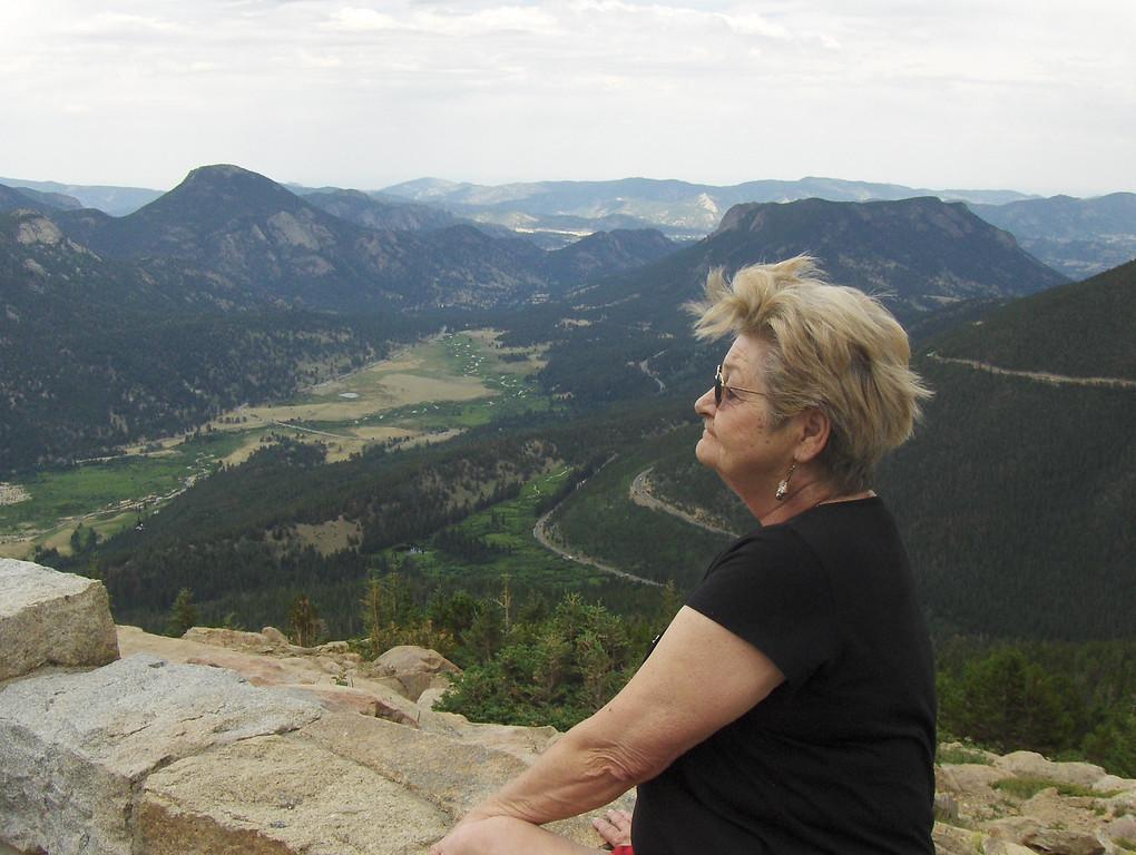 July 2008 - GMA's first trip to RMNP - views from Trail Ridge Drive