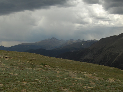 July 2008 - GMA's first trip to RMNP - views from Trail Ridge Drive - at the scenic overlook