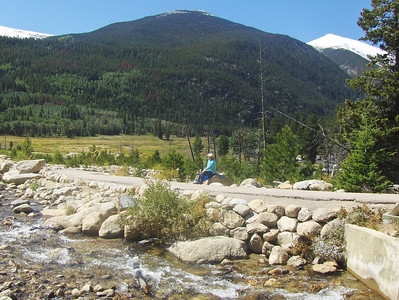 09-13-08 - more views from the Alluvial Fan area - GMA (short for gramma) - taking it all in!