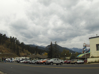 10-04-2008 - Estes Park; Elk Fest; a view from downtown looking at RMNP