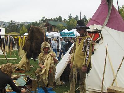 10-04-2008 - Estes Park; Elk Fest; Native American and Mountain Men