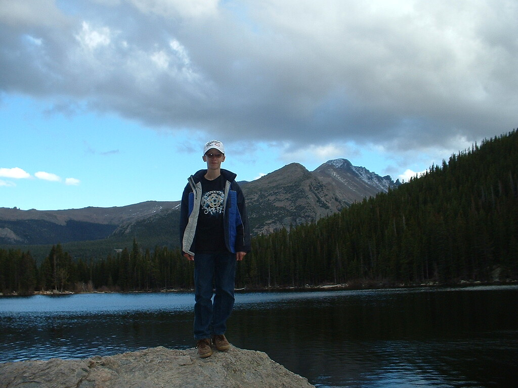 October 2007 - Tony at Bear Lake