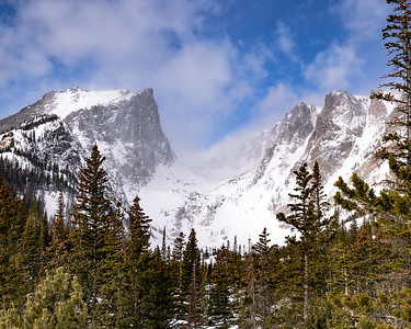 Hallet Peak Along Dream Lake Trail