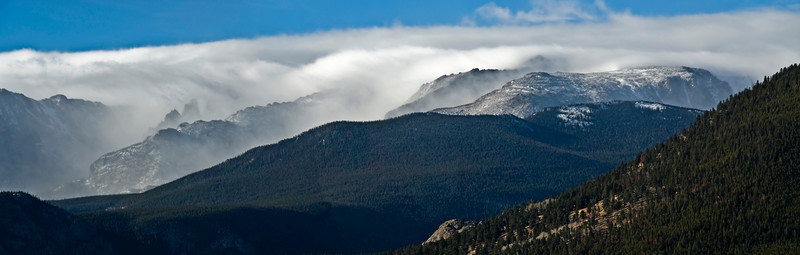 Clouds on the Mountains