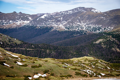 Along the Trail Ridge Road, Rocky Mountain National Park, Colorado, June 2016.
