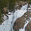 Frozen Alberta Falls