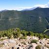 Trail Ridge Road climbing on up...