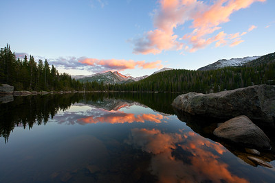 A Perfect Sunset in Rocky Mountain National Park