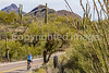Sojourn cyclists in Tucson Mountain Park - D3 - C3-0360 - 72 ppi