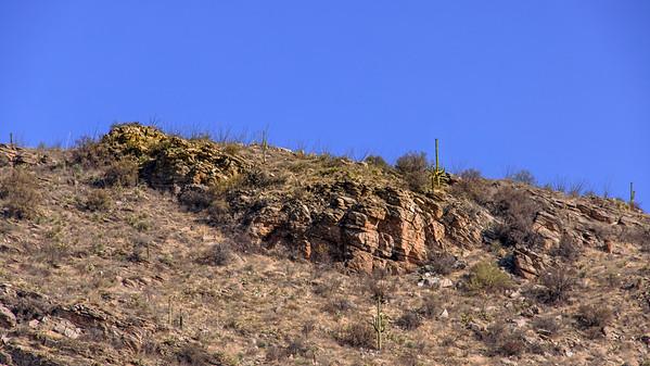 Triumphant Rock Climbers