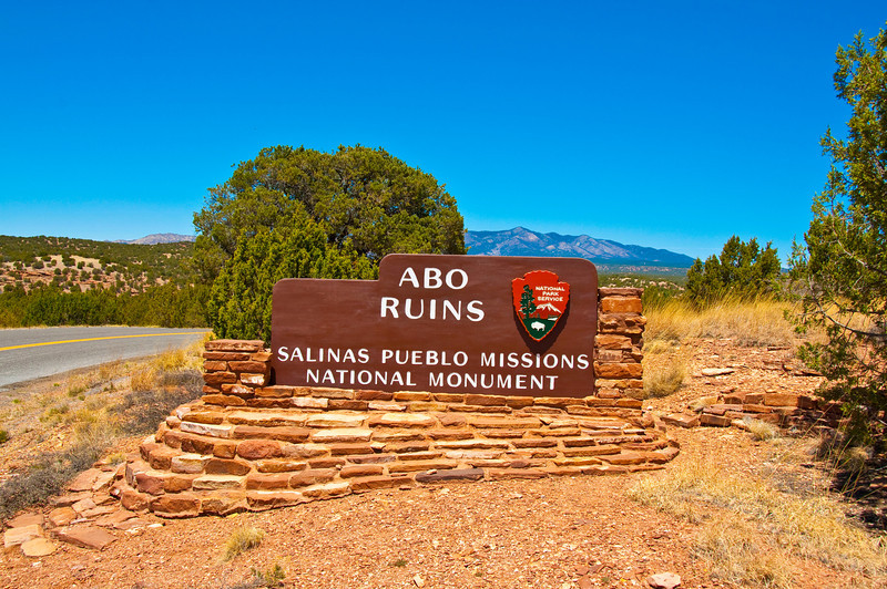 Entering the Abo Ruins area