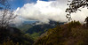 View from one of the roads in Sequoia National Park looking to the west.