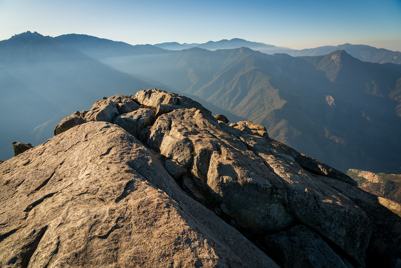 Moro Rock at Sequoia National Park