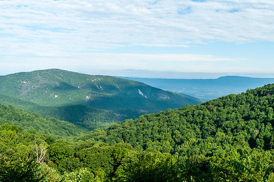 at Shenandoah National Park