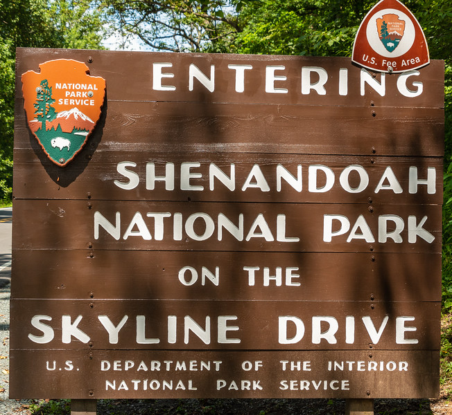 Shenandoah National Park Entry
