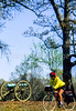 Cyclist at Tennessee's Shiloh National Military Park - 17-2 - 72 ppi