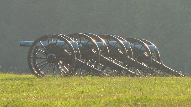 Sunset Cannon at the Peach Orchard