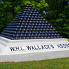 At the last line - command location of Brigadier General William Wallace.  Wallace commanded the second division of the Army of the Tennessee.