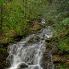 Cascade in the Great Smokey Mountains.