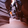 Inside Upper Antelope Canyon, a long dream of mine.