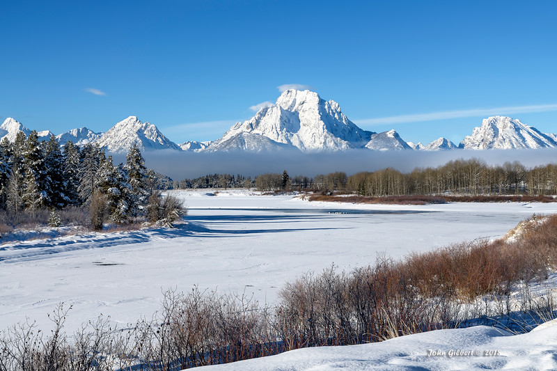 Oxbow in Winter